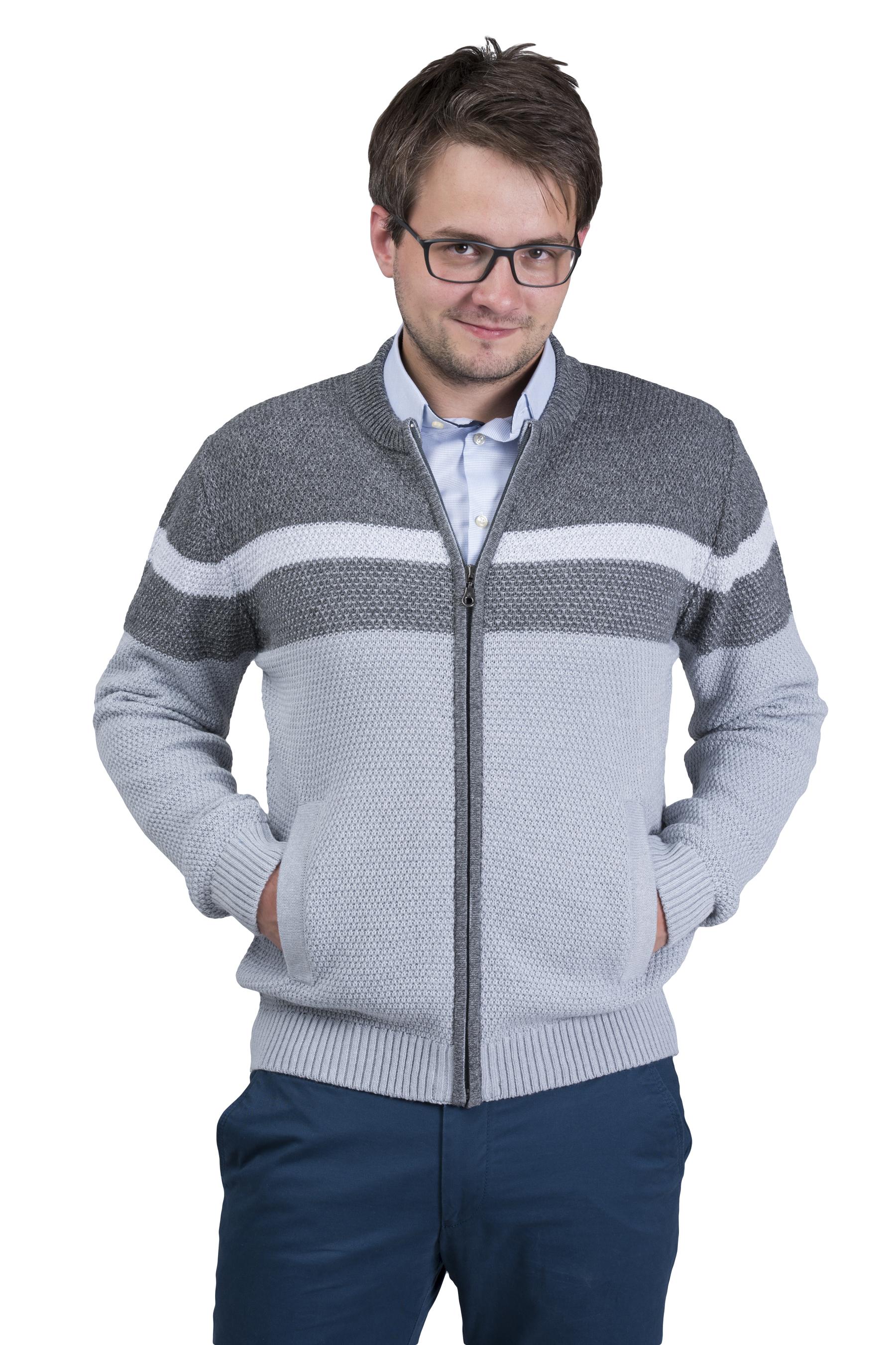 swetry męskie na zamek monika lasota